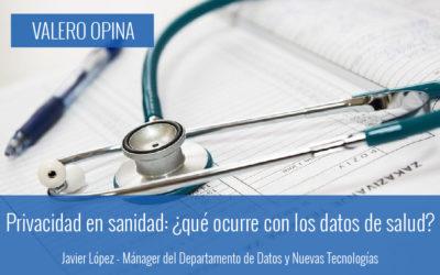 Privacidad en sanidad: ¿qué ocurre con los datos de salud?